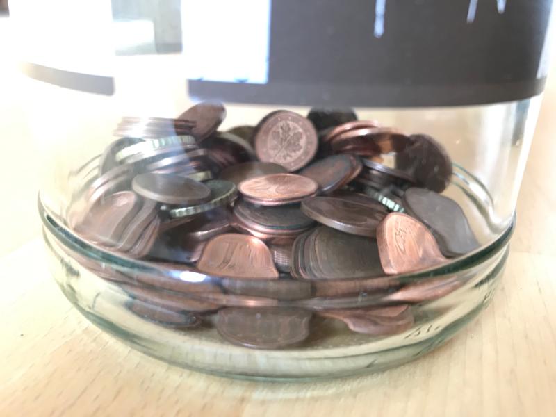 Einnahmen und Einkäufe September 2020