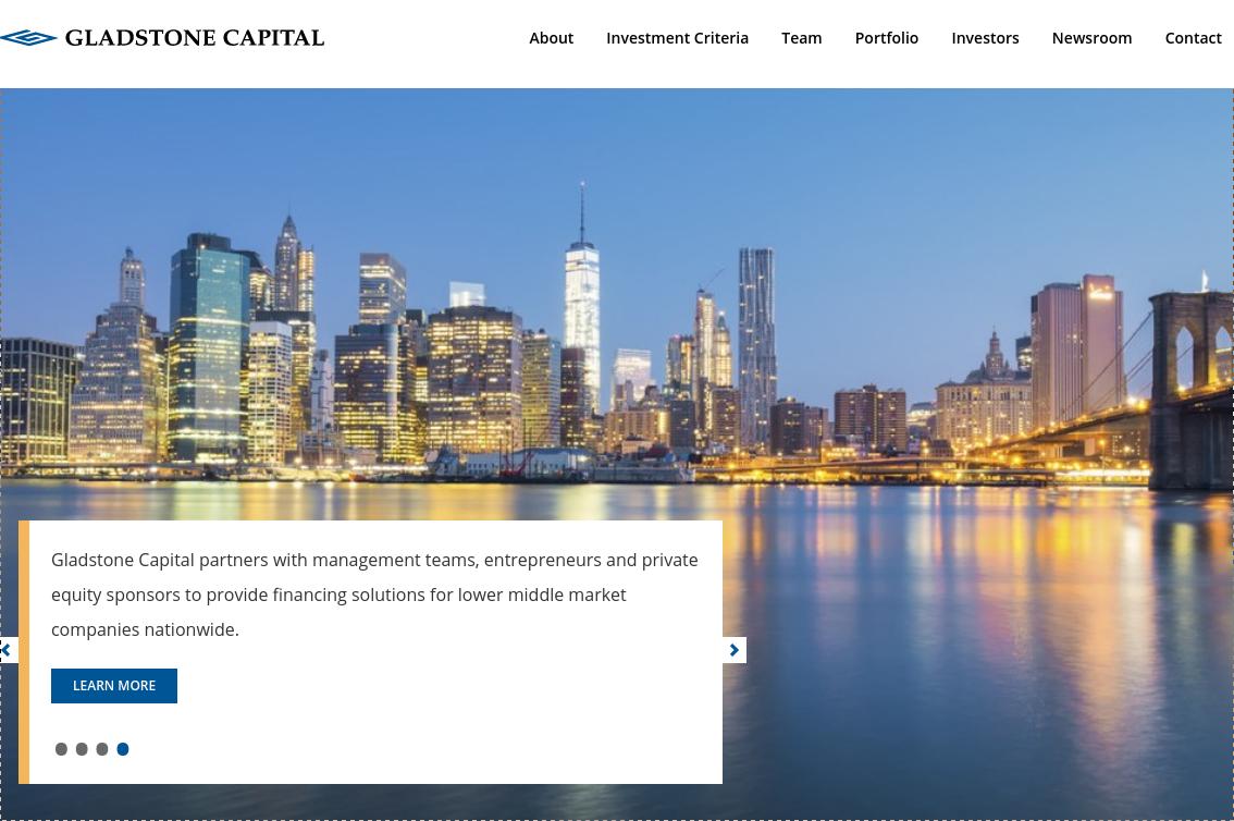 Gladstone Capital Corperation