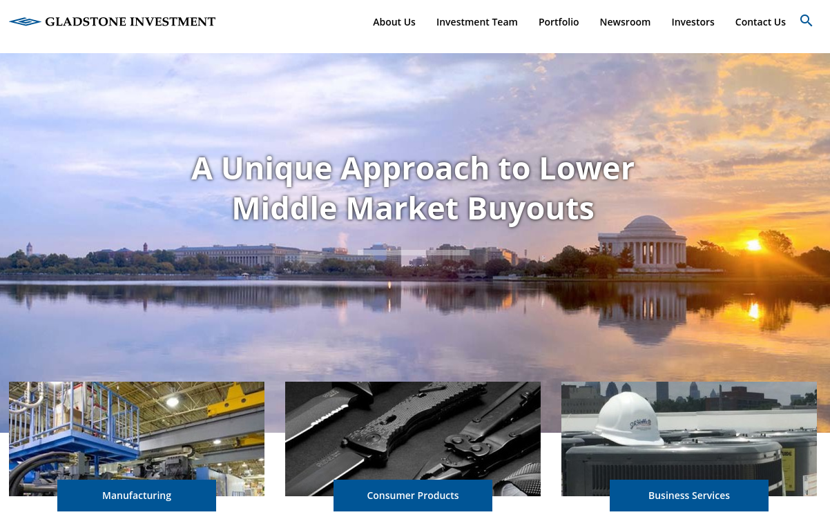 Gladstone Investment Coperation